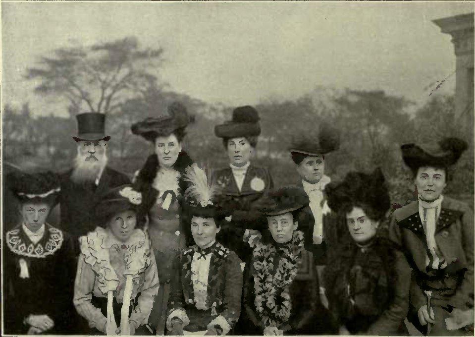 OFFICIALS OF THE N.C.C.C. (Photo: Mrs. G. H. Walker.)