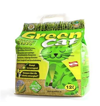 6 12 72 liter greencat ko plus naturstreu green cat s katzenstreu best streu corncat. Black Bedroom Furniture Sets. Home Design Ideas