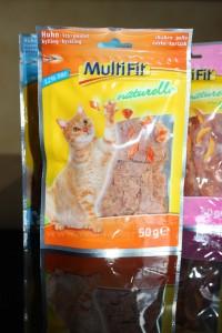Katzensnack im Test: Multfit naturelle - Taubertalperser