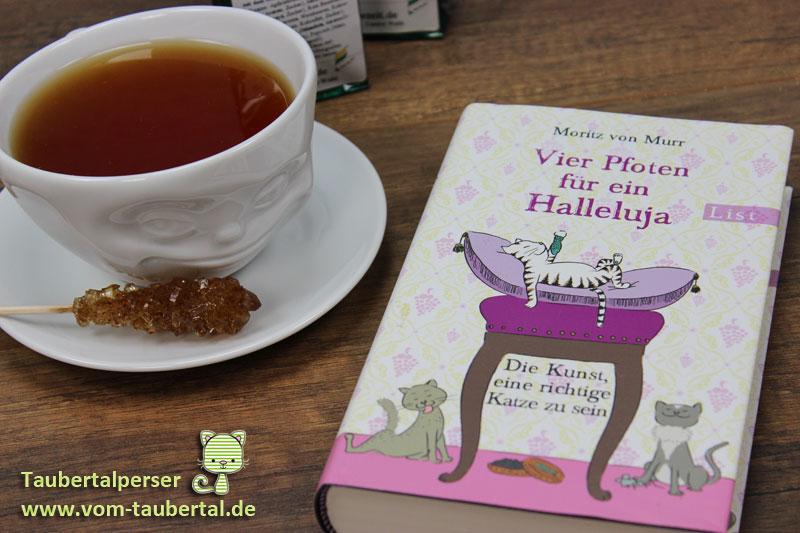 Zeit für ein Buch: Vier Pfoten für ein Halleluja: Die Kunst, eine richtige Katze zu sein