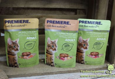 Katzenfutter im Test: Premiere – Cats love nature DeLuxe