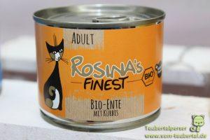 Rosina Finest Katzenfutter Ente Taubertalperser