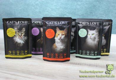 Katzenfutter im Test: Cat's Love – Taubertalperser