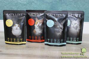 Cat's Love Taubertalperser Futtertest