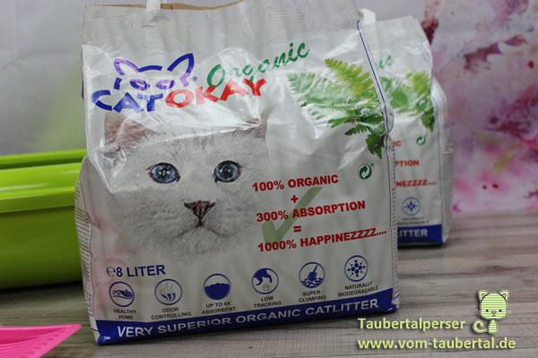 CatOkay Taubertalperser Katzenstreu