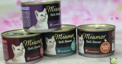 Miamor Deli Dinner, Taubertalperser, Futtertest