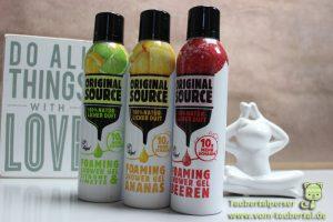 OriginalSource Foam, Taubertalperser, Gewinnspiel, Spatipro, Bloggerevent