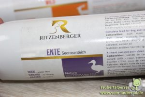 Ritzenberger, Taubertalperser, Katzenfutter, unabhängiger Futtertest, Nassfutter