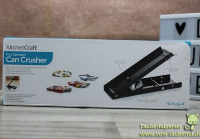 Produkttest: Kitchen Craft – Dosenpresse – Taubertalperser