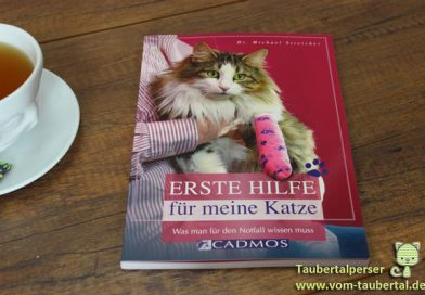 Zeit für ein Buch: Erste Hilfe für meine Katze  – Taubertalperser