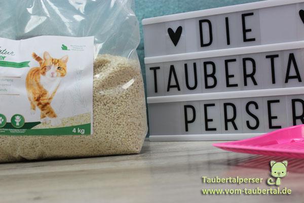 Pro-Nature Katzenstreu, Katzenstreutest, Taubertalperser, Katzenstreu, Cat Litter