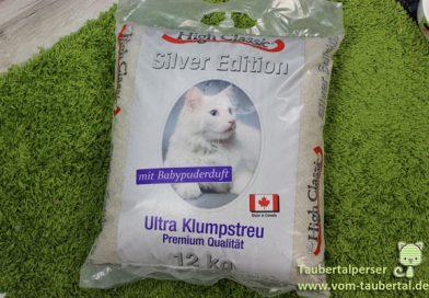 Katzenstreu im Test: High Classic Silver Edition – Taubertalperser
