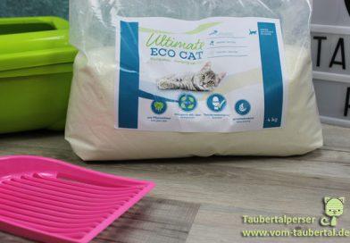 Katzenstreu im Test: Ultimate Eco Cat – Taubertalperser