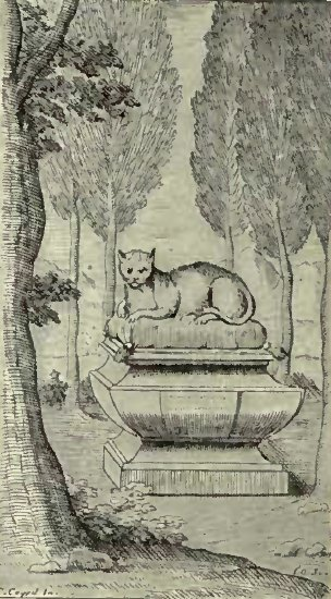 TOMB OF A CAT WHICH BELONGED TO MADAME DE LESDIGUIERES