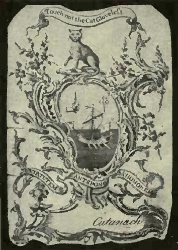 THE CAT IN HERALDRY (From Frank's Collection of Book Plates)