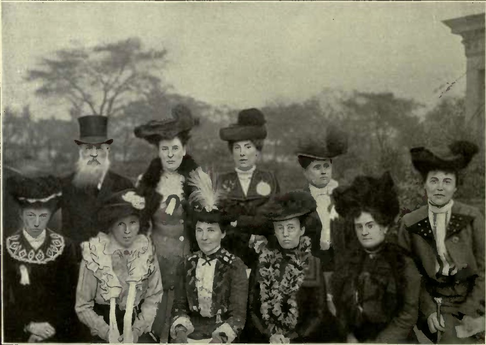 OFFICIALS OF THE N.C.C.C. (Photo: Mrs. G. H. Walker.)