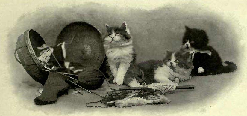 A PICTURESQUE GROUP (Photo: E. Landor, Ealing
