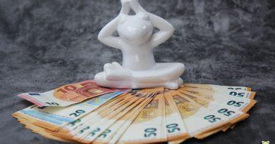 Geld, Frosch, Feng Shui,