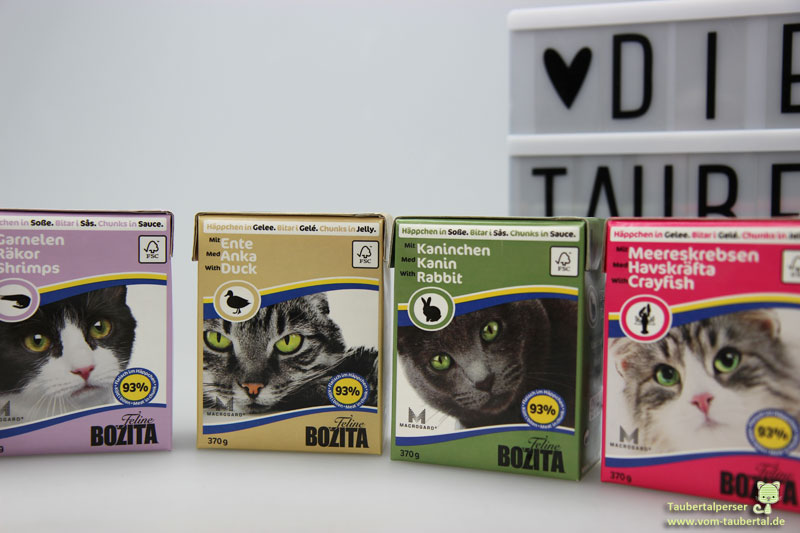 Bozita, Katzenfuttertest, Taubertalperser, Futterbewertung, Futtertest, unabhängiger Katzenblog