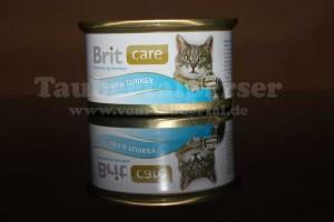 Brit Care, Taubertalperser, Katzenfuttertest