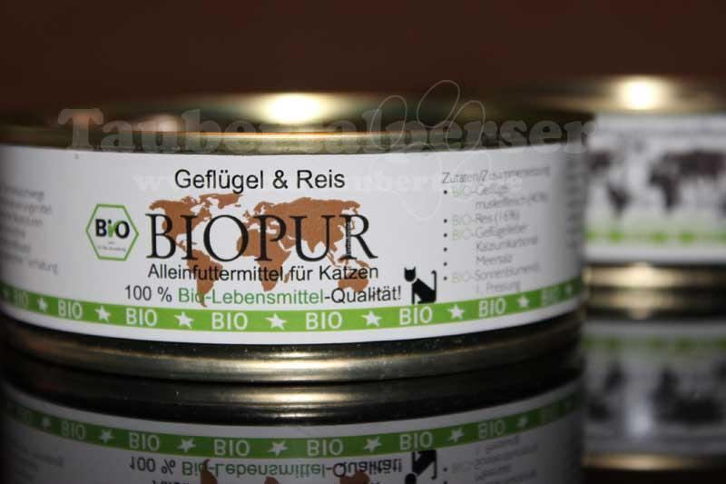 Biopur, Katzenfutter, unabhängiger Futtertest, Katzenfuttertest