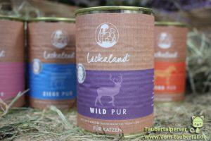 Leckaland, Taubertalperser, unabhängiger Katzenfuttertest, Futtertest