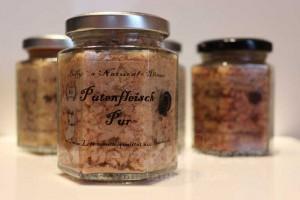 Putenfleisch-Taubertalperser