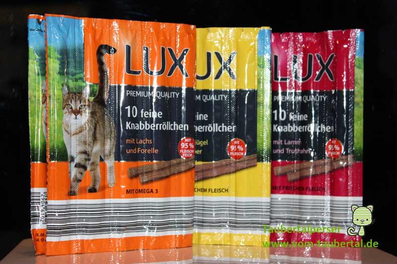 Katzensnack Im Test Lux Knabberrollchen Aldi Nord