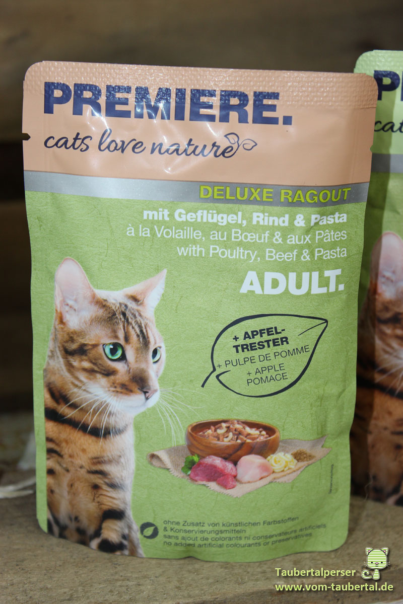 Katzenfutter premiere