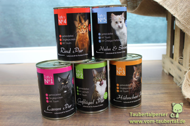 Katzenfutter Im Test Taffy S Katzenfutter Taubertalperser