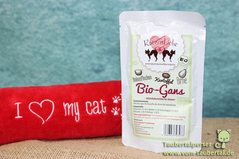 Katzenliebe Katzenfuttertest Taubertalperser