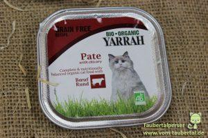 Yarrah Taubertalperser Bio Katzenfutter