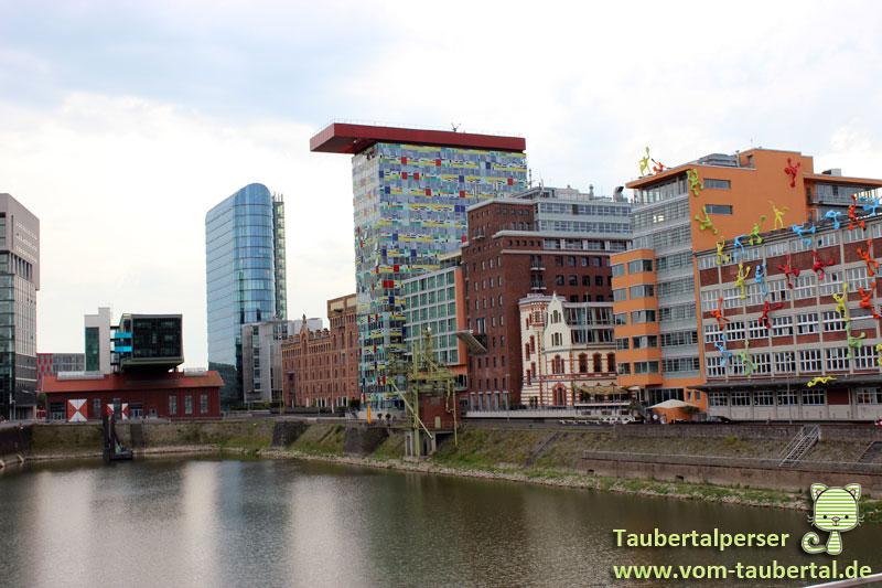 Düsseldorf Medienhafen, Innside Medienhafen, Taubertalperser, Travel, Reisen