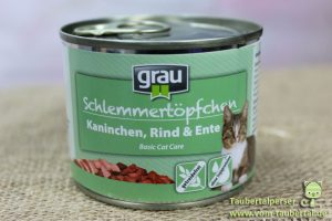 Grau Basic Cat Care Taubertalperser