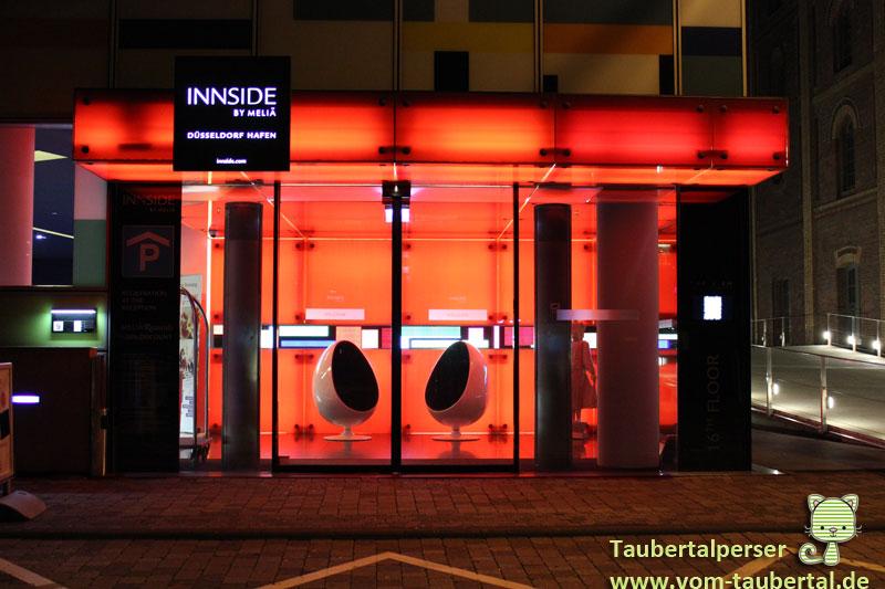 Innside Melia Hafen, Düsseldorf, Medienhafen, Taubertalperser, Hotel