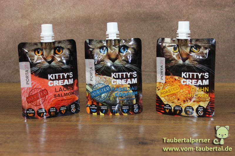 Kitty's Cream, Snack, Cream, Roasted, Porta21, Schulze Heimtierbedarf, Taubertalperser