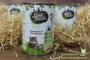 Landpartie Katzenfuttertest Taubertalperser
