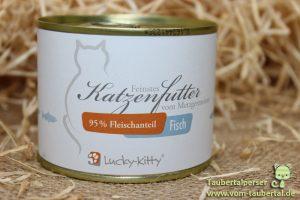 Lucky Kitty Nassfutter Taubertalperser