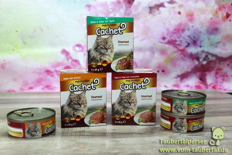 Katzenfutter Im Test Cachet High Premium Gourmet Taubertalperser