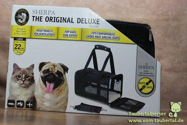 Produktvorstellung: Sherpa® Original Deluxe Pet Carrier, Taubertalperser, Produkttest