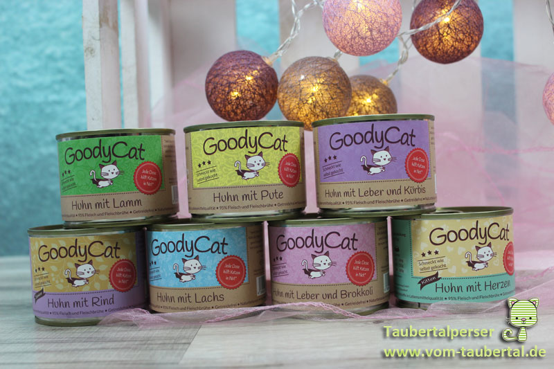 GoodyCat Taubertalperser Futtertest