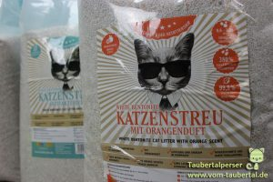 Katzenstreu, Katzenstreutest, Taubertalperser, Rinderohr, unabhängiger Streutest