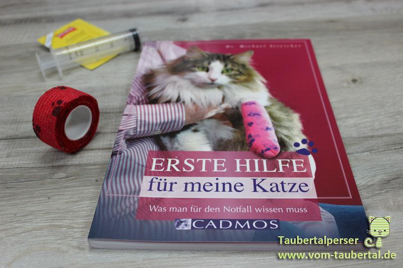 Erste Hilfe für meine Katze, Buchvorstellung, Taubertalperser