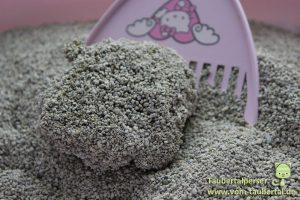 Katzenstreu High Classic Silver Sand, Streutest, Taubertalperser
