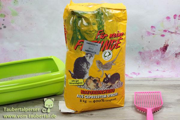 Katzenstreu, Taubertalperser, Katzenstreutest, Für meine Freunde, Produkttest