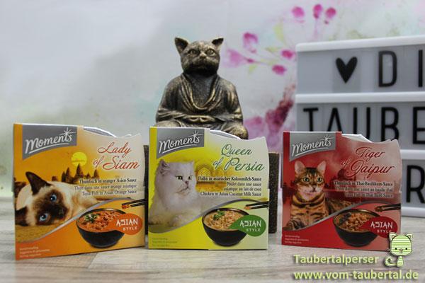Moments Asia Style, Katzenfuttertest, Taubertalperser
