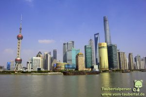 Shanghai, Der Bund, Financial District, Oriental Pearl Tower, Taubertalperser