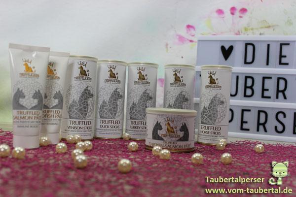 Truffelicious, Taubertalperser, Katzensnack, Produkttest, Produktvorstellung, Trüffel, Sommertrüffel, Katzen