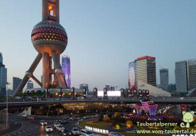 Looking back to shanghai, Taubertalperser, Travel, China, City