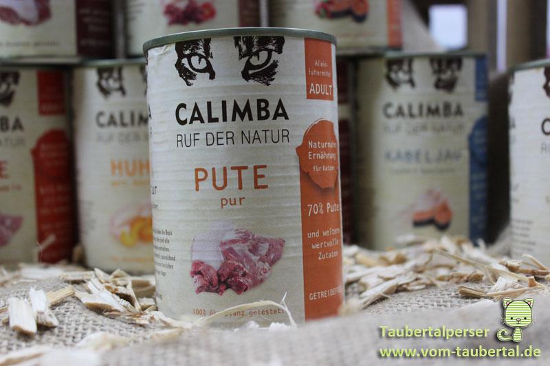 Calimba, Taubertalperser, unabhängiger Futtertest, Katzenfutter,